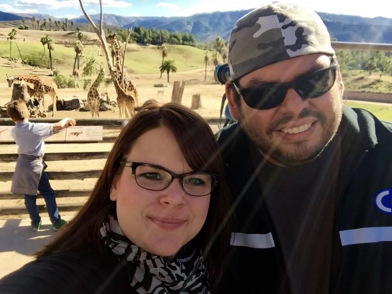 A wonderful day at the San Diego Safari Park