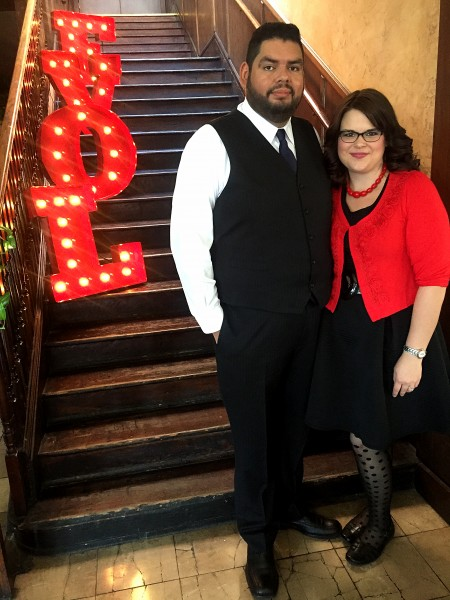At a friends wedding.