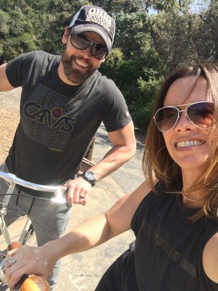 Out for a bike ride!