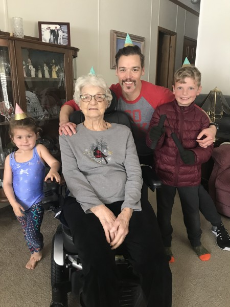 Ryan flew home to OH to surprise his Grandma on her 90th birthday!