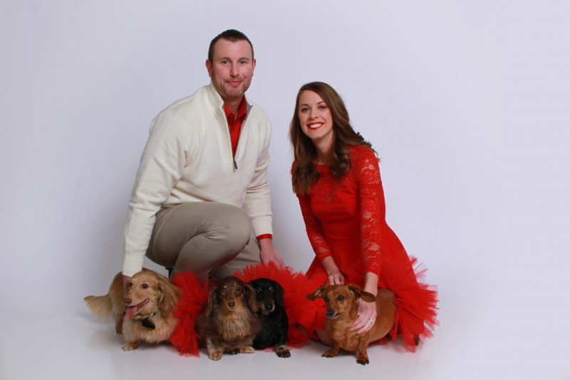 Our family, including our dogs of course!