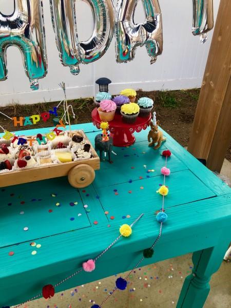Beautiful birthday table!