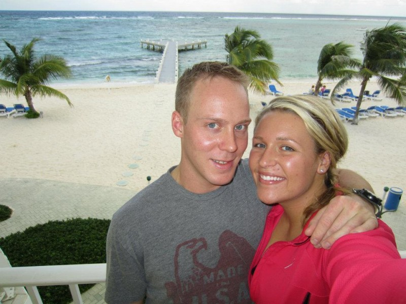 Cayman Islands with Michaels family while we were dating