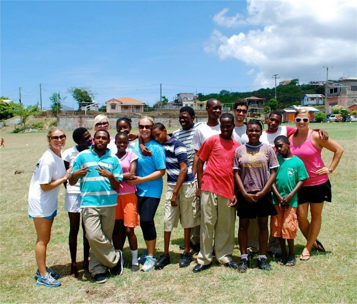 Special needs sports Jessica volunteered with every Friday when we lived in Grenada