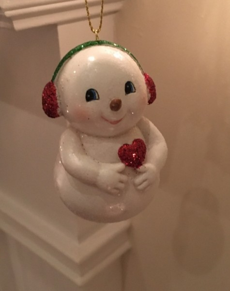 We bought this ornament to represent the baby growing in our hearts