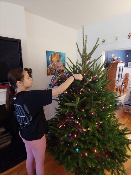 Prepping the tree 2