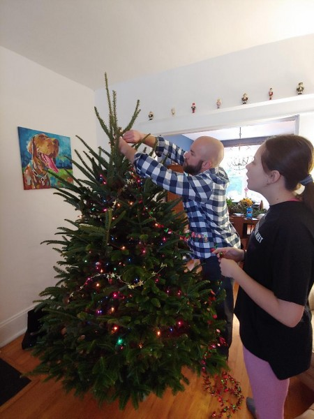 Prepping the tree