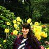 Exploring the botanical gardens.