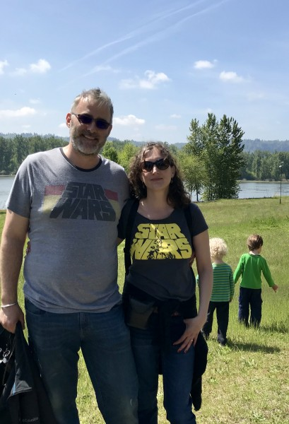 Hike along the Columbia River on May the Fourth