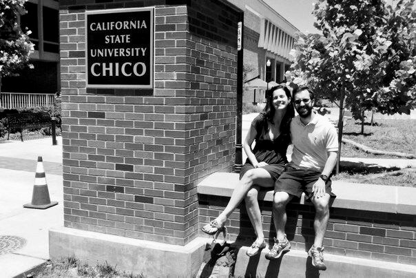 At Chico State University, California