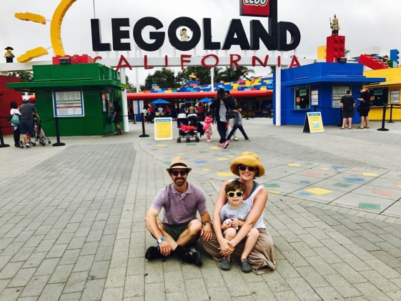 Visiting Legoland in Carlsbad, California