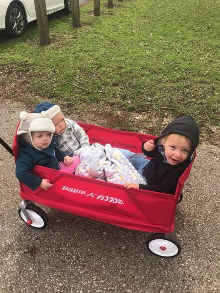 Cousin wagon ride