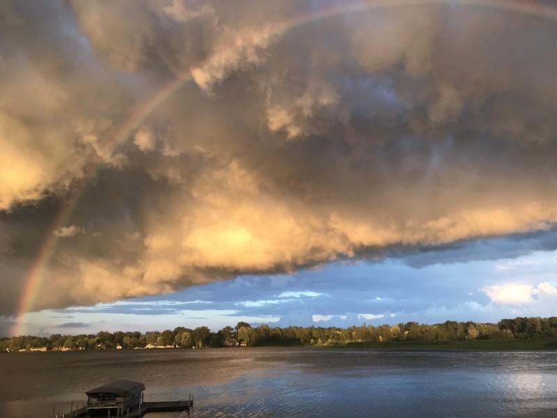 Home Rainbow clouds