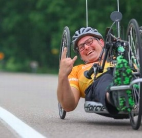 Bryan and his adaptive sports!