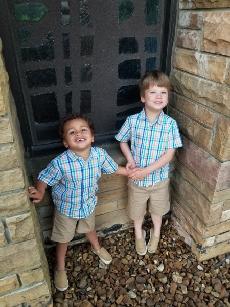 Brothers on Easter