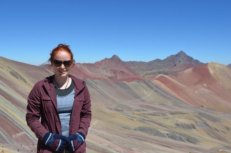 Visiting Rainbow Mountain in Peru - 17,000 foot altitude and below freezing temperature