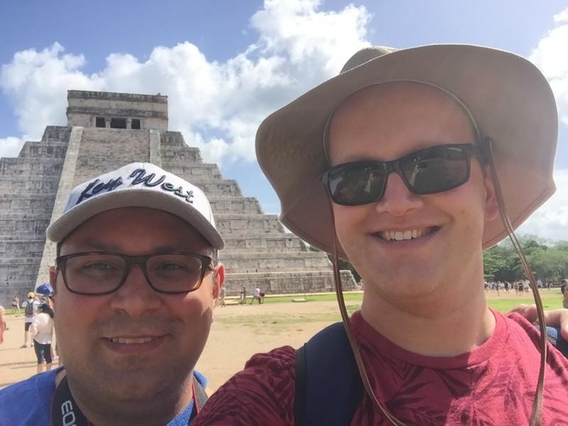 Visiting Chichen Itza, Mexico