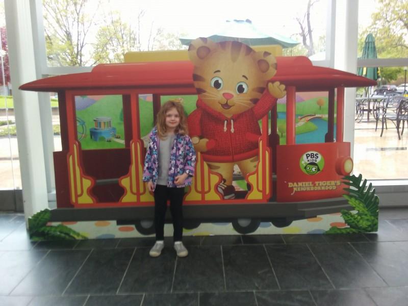 Trolley with Daniel Tiger