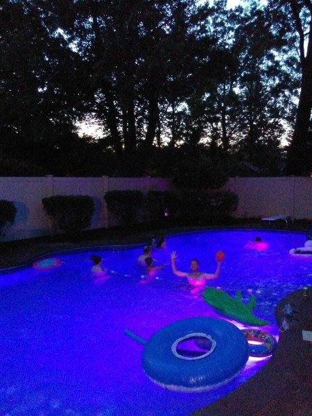 Fun time at a friends amazing pool