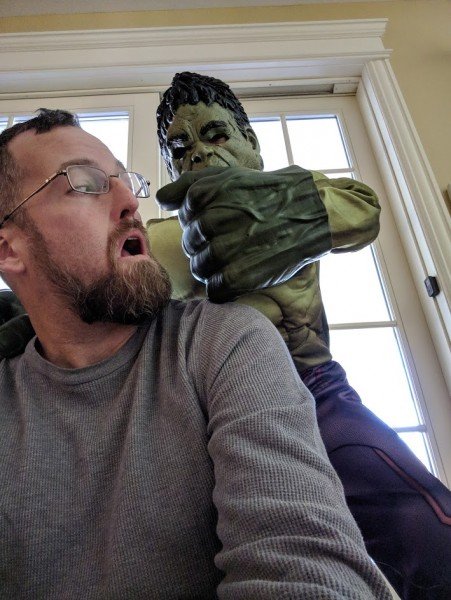Oh no, the Hulk!