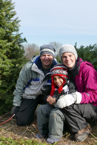 We are an active family, and love being outdoors!!