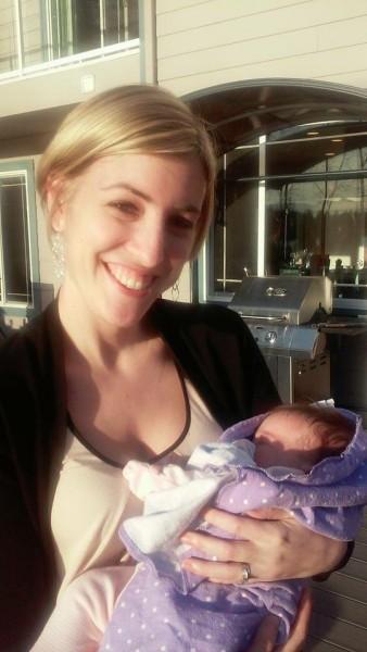 Holding Maggie's Little girl