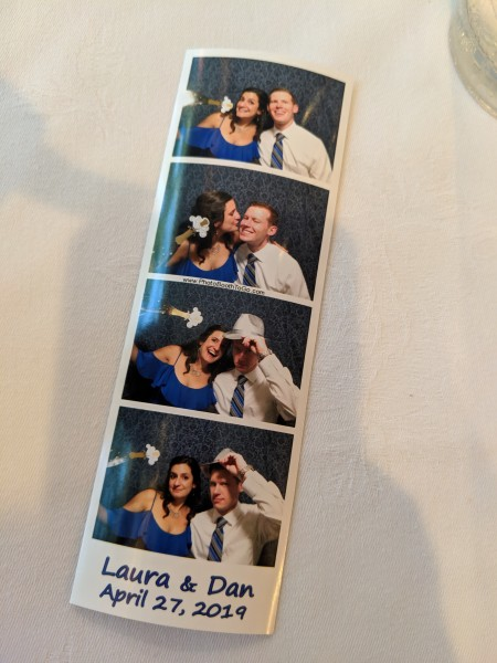 Photo booth lauras wedding