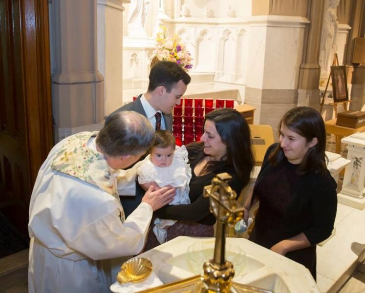 Kaya's baptism