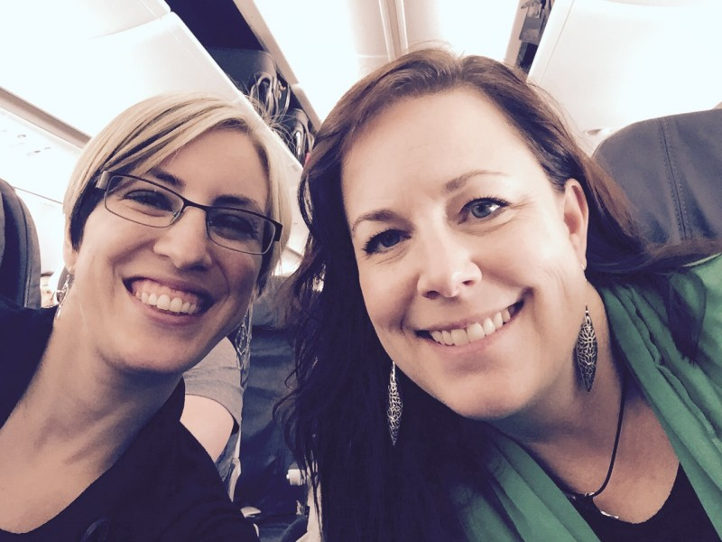 Whitney and Lisa Headed to the International Womens Conference!