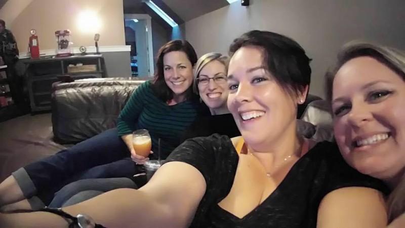 Lisa, Whitney, Rae, and Jenn 2 years ago