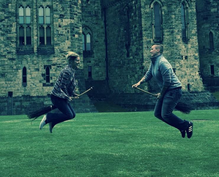 the Harry Potter Castle