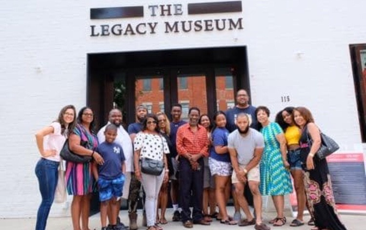 Family trip to Legacy Museum