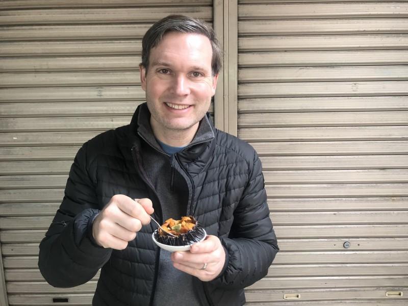 Exotic food in Japan
