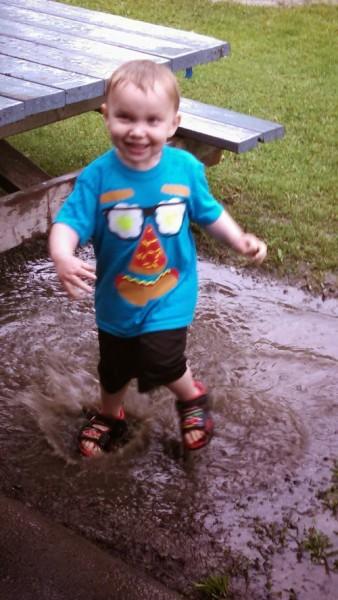 Muddy puddles!!