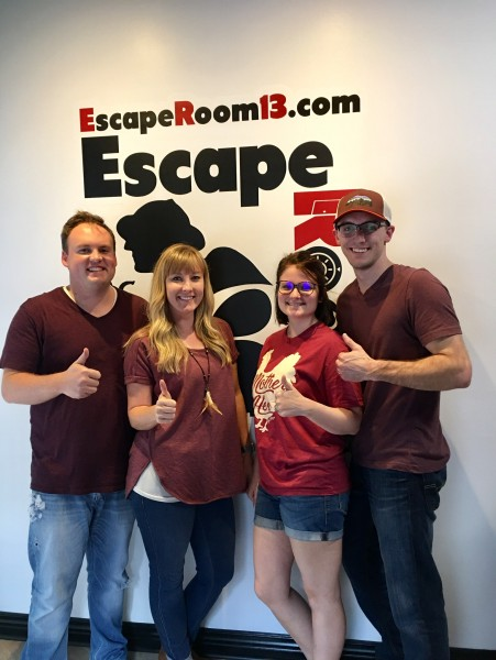 A weekend trip to Eureka Springs with our friends Kayla and Cole. It's a tradition to try escape rooms on our adventures.