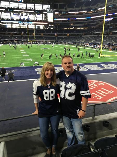 Watching the Dallas Cowboys in Dallas!