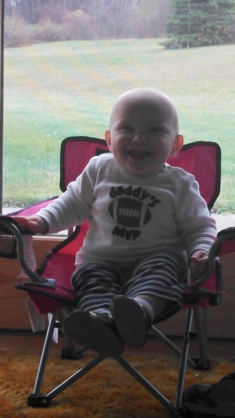 Big boy chair!
