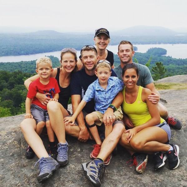 Hiking with family in the Adirondaks!