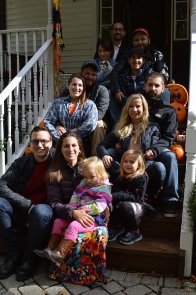Nicole's family.