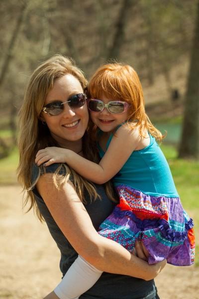 Tara and her niece, Haley.