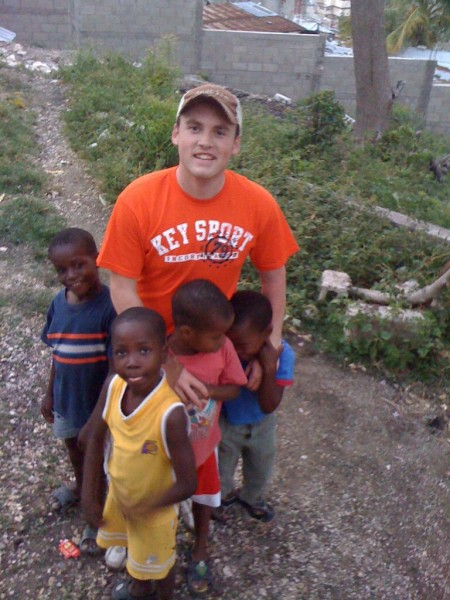 Fred's missions trip to Haiti.
