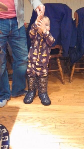 Aunt Jamie boots