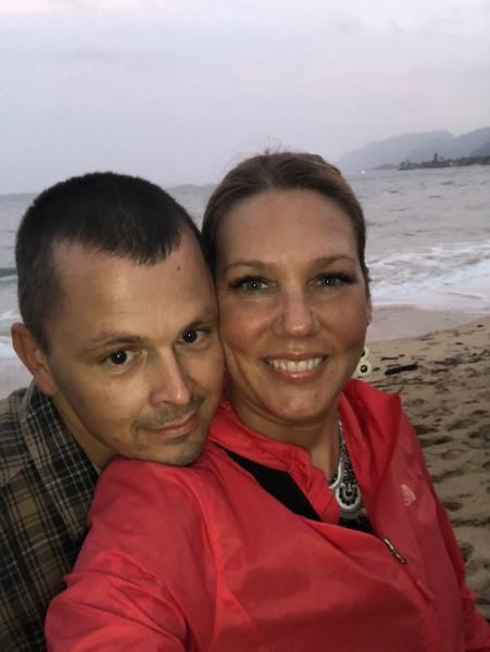 Enjoying Hawaii