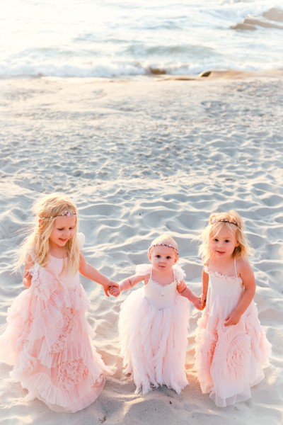 Our girls looked so beautiful in their gowns. Elizabeth's 1 year old shoot.