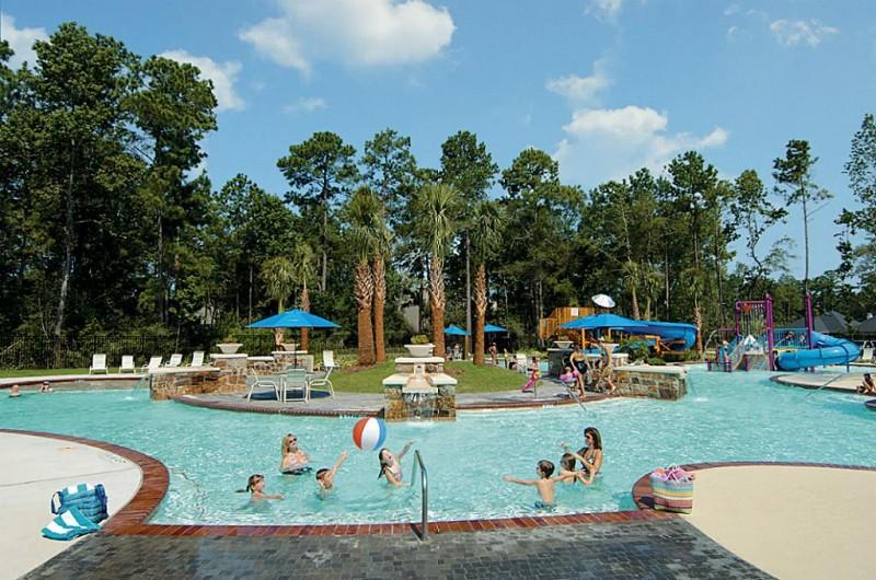 One of our neighborhood pools.