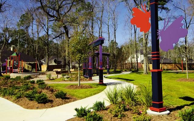 The Butterfly Garden park in our neighborhood.