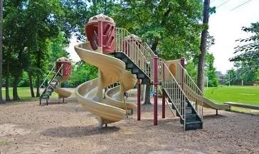 One of our neighborhood playgrounds.