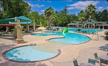 Another neighborhood pool.