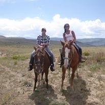 We love, love, love horseback riding
