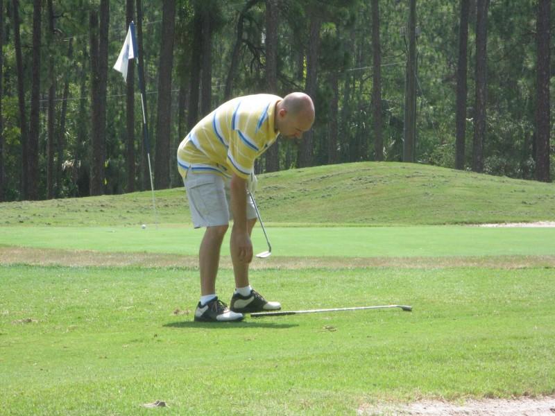 Golfing in Florida!